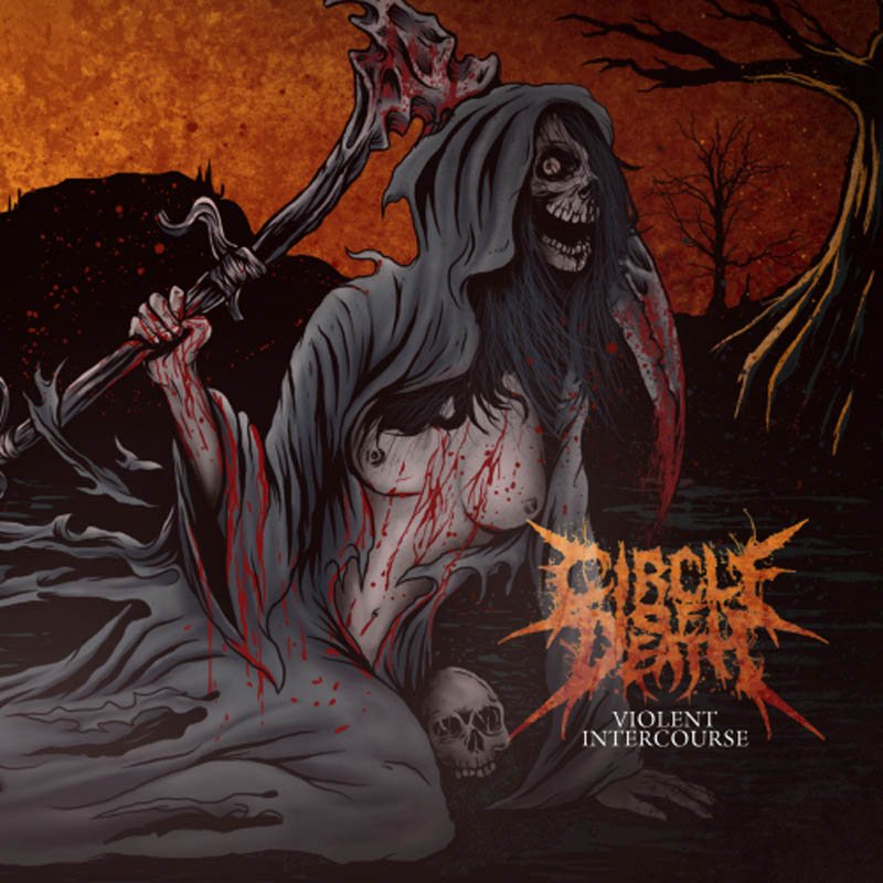 Circle of Death - Violent Intercourse CD-Cover