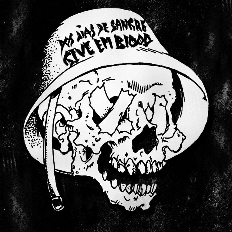 Dos Dias De Sangre - Give Em Blood CD-Cover
