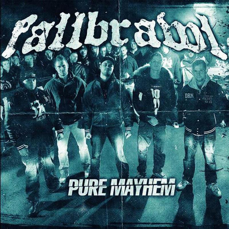 Fallbrawl - Pure Mayhem CD-Cover