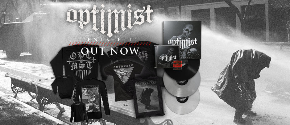 Optimist entseelt cd vinyl limited colours out now
