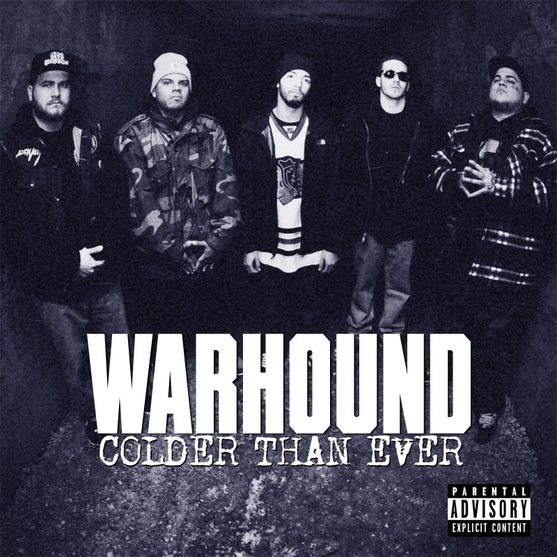 Warhound - Colder Than Ever CD-Cover