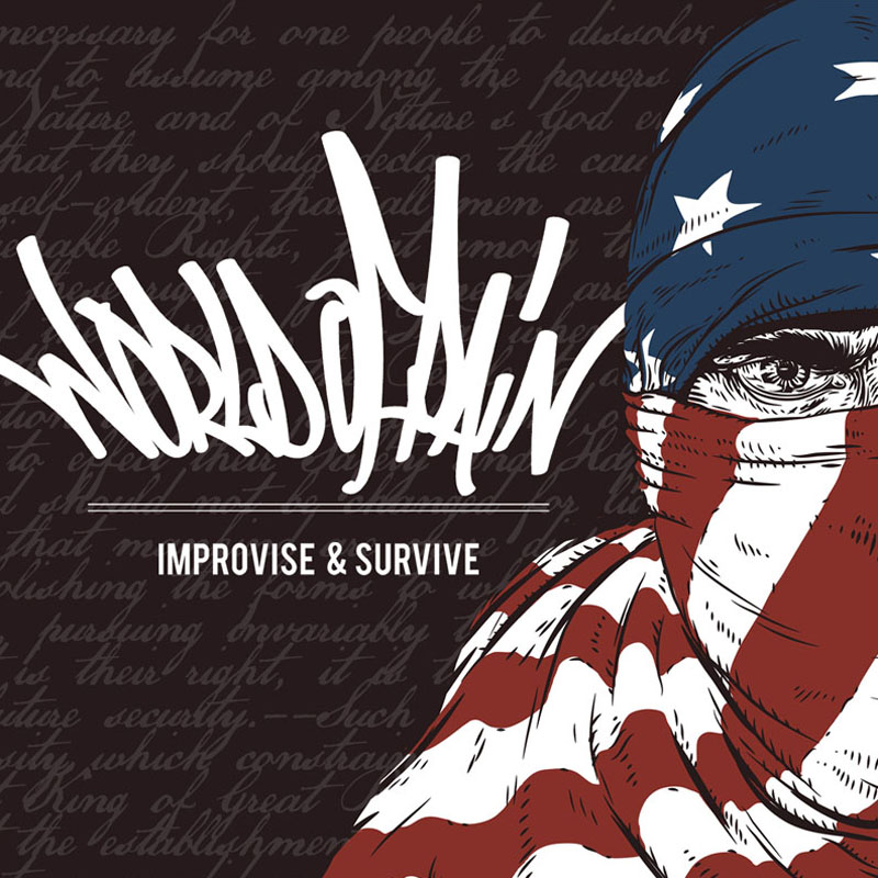 World Of Pain - Improvise And Survive CD-Cover